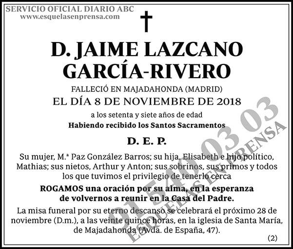 Jaime Lazcano García-Rivero